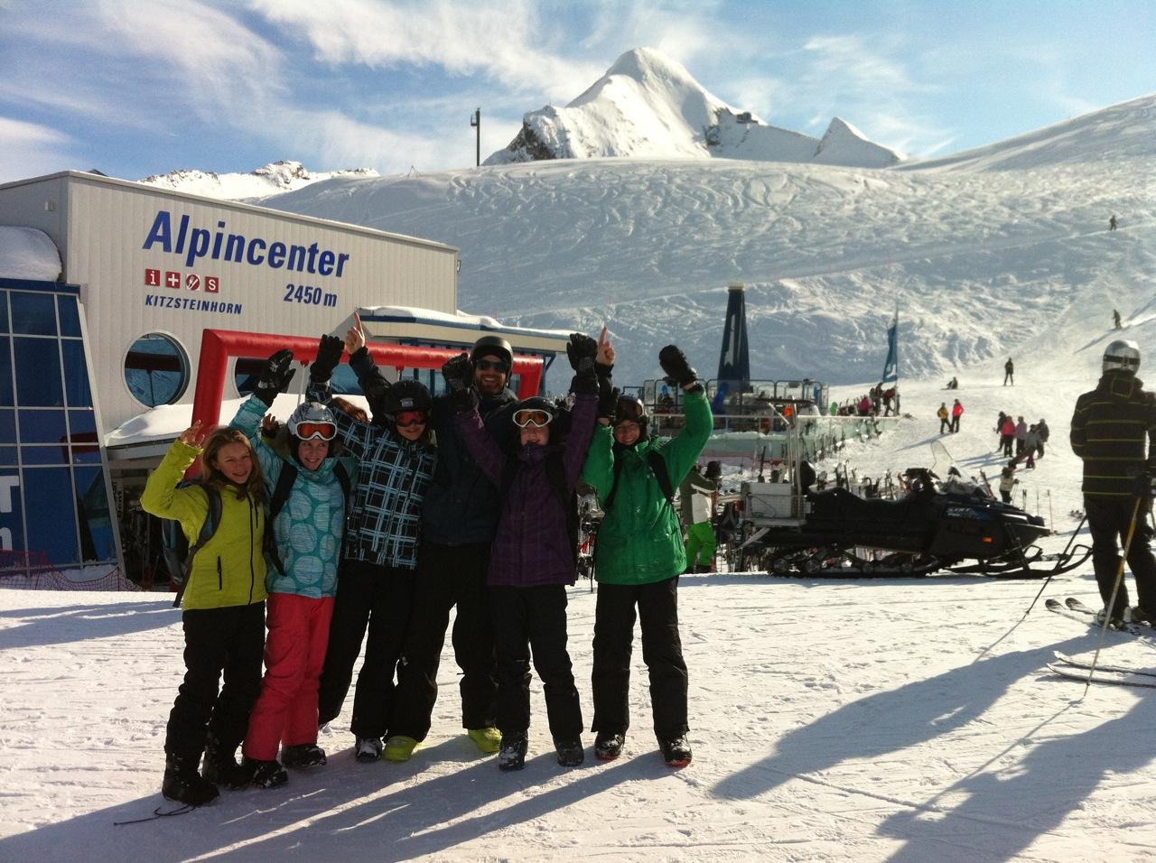 Snowboarder, Piaristengymnasium Wintersportwoche 2012