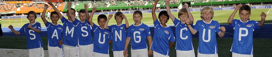 ÖFB Samsung Cup Begleitkinder
